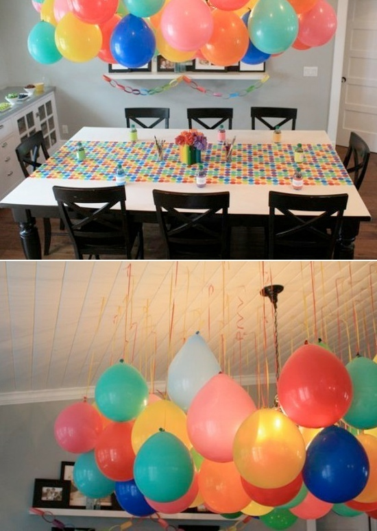 balloon decoration ideas cheap