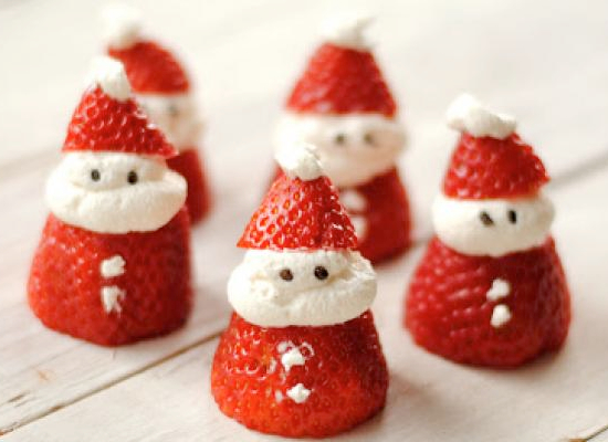 Cute Christmas breakfast & snack ideas